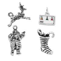 Sterling Silver Christmas Pendants