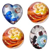 Millefiori Slice Lampwork Beads