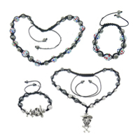 Fashion Woven Ball Jewelry Sets