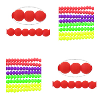 Rubberized Glass Beads