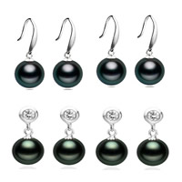 Natural Akoya Cultured Pearl Earrings