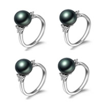 Natural Akoya Cultured Pearl Ring
