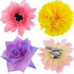 Flower Hair Clip Brooch