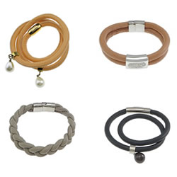 Goat Skin Leather Bracelet