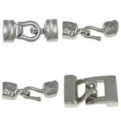 Stainless Steel Hook and Eye Clasp