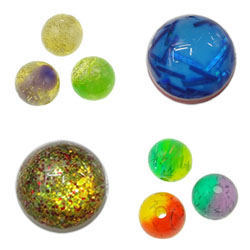 Confetti Resin Beads