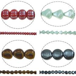 Glazed Porcelain Beads