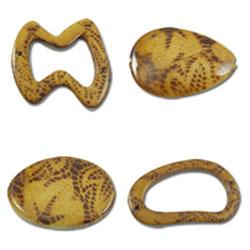 Tiger Skin Acrylic Beads
