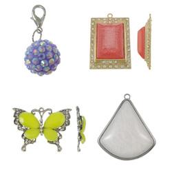 Resin Jewelry Pendant