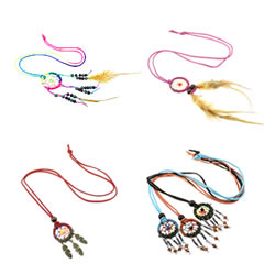 Dreamcatcher Sweater Necklace