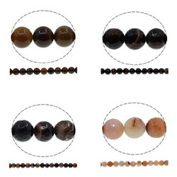 Coffee Agate Beads