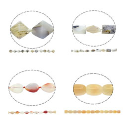 Original Color Agate Beads