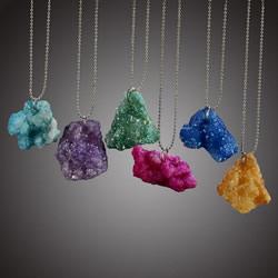Shining Druzy Jewelry