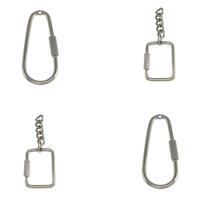 Iron Carabiner Key Ring