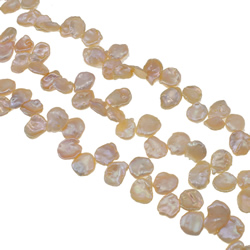 Keishi Cultured Freshwater Pearl Beads