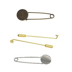 Brass Brooch Finding