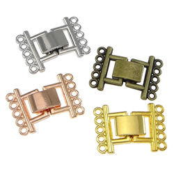 Zinc Alloy Fold Over Clasp