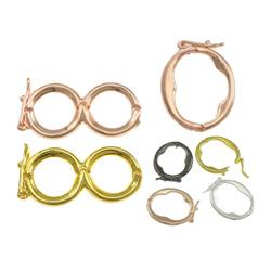 Brass Necklace Shortener Clasp