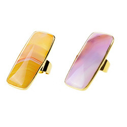 Agate Jewelry Finger Ring