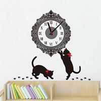 Wall Sticker Clock