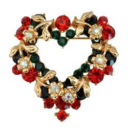 Christmas Jewelry Brooch