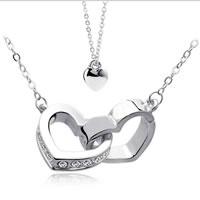 Couple Zinc Alloy Necklace