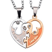 Zinc Alloy Couple Pendant