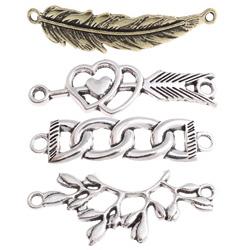 Zinc Alloy Jewelry Connectors