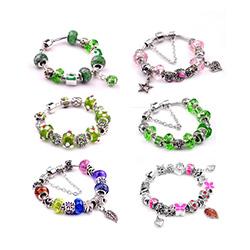 Zinc Alloy European  Bracelets