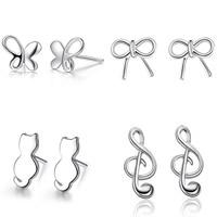 Sterling Silver Stud Earring