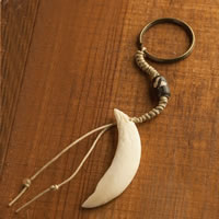 Yak Bone Key Chain