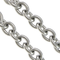 Titanium Oval Chain
