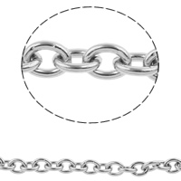 Stainless Steel Oval Chain