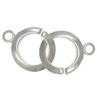 Sterling Silver Interlocking Clasp