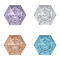 CRYSTALLIZED™ Elements #4681 Crystal Vision Hexagon Fancy Stone Cabochon