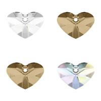 CRYSTALLIZED™ Elements #6260 Crystal Crazy 4 U Heart Pendants