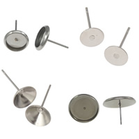 Stainless Steel Earring Stud Component