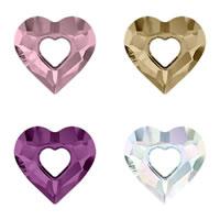 CRYSTALLIZED™ Elements #6262 Crystal Miss U Heart Pendants