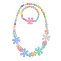 Plastic Children Jewelry Set
