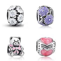 Enamel Thailand Sterling Silver European Beads