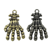 Zinc Alloy Hand Pendants
