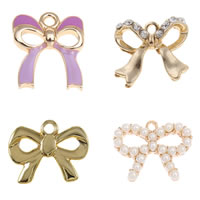 Zinc Alloy Ribbon Pendants