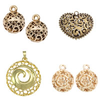 Zinc Alloy Hollow Pendants
