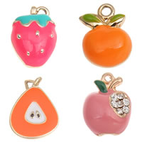 Zinc Alloy Fruit Shape Pendants