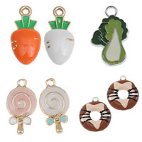 Zinc Alloy Food Pendant
