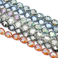Oval Crystal Beads