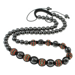 Fashion Woven Ball Necklace