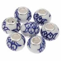 European Porcelain Beads