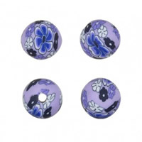 Round Polymer Clay Beads