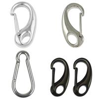 Stainless Steel Carabiner Key Ring